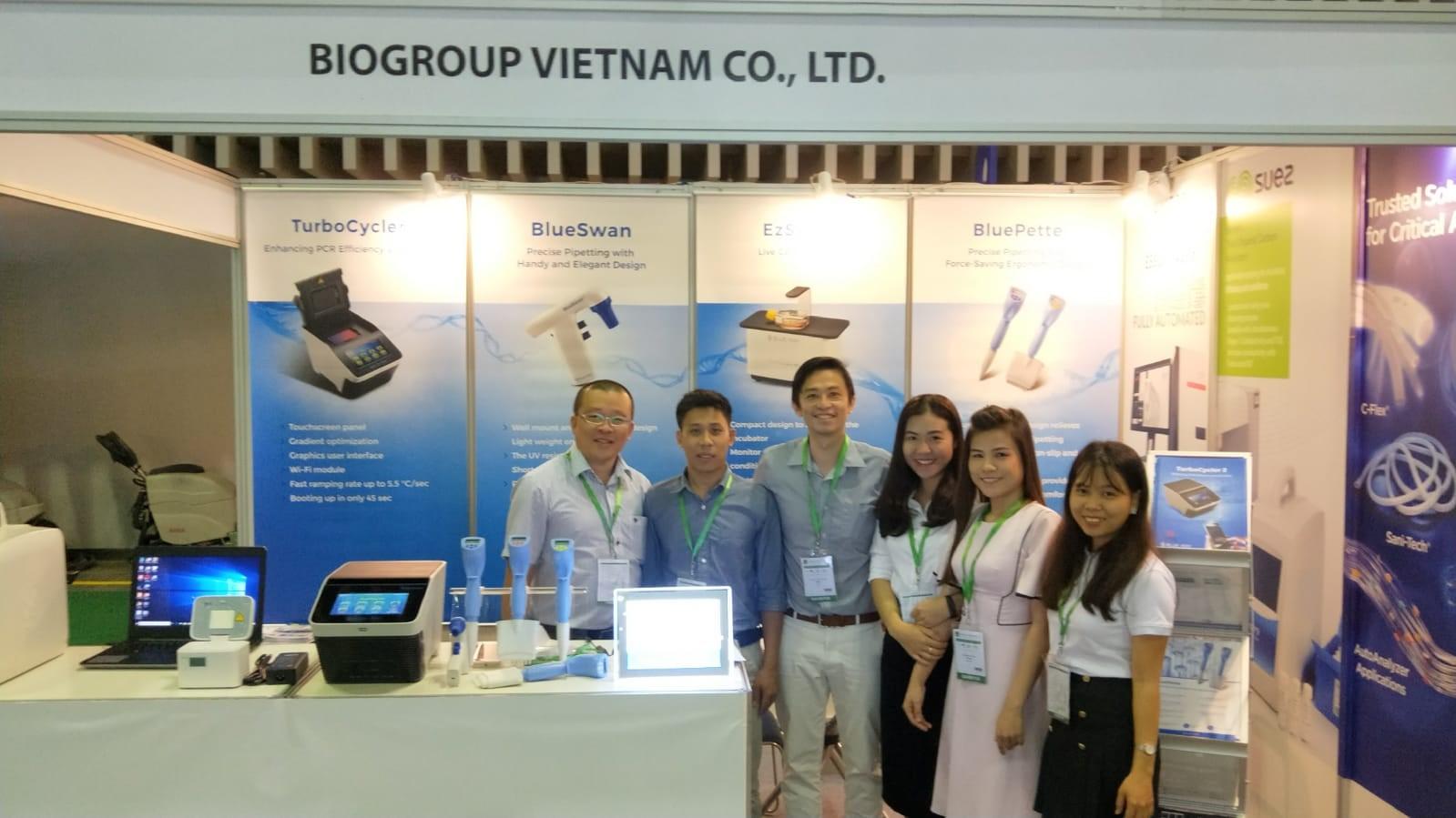 """Biogroup Vietnam tham dự triển lãm thiết bị tại sự kiện """"ANALYTICA VIETNAM 2019"""""""